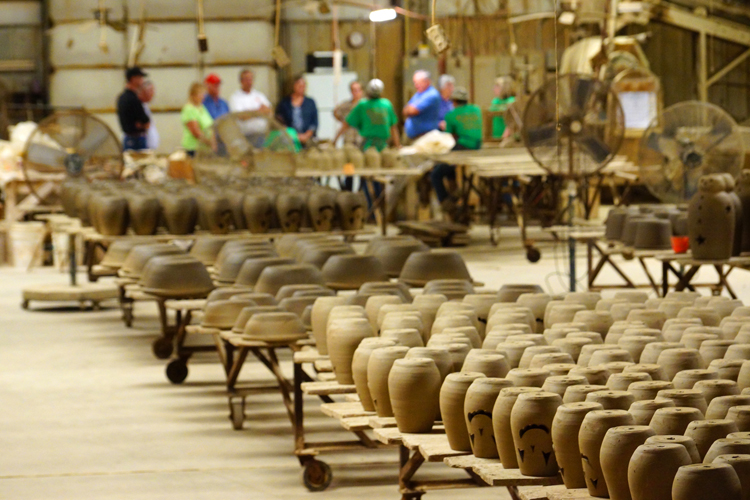 hewells pottery tours